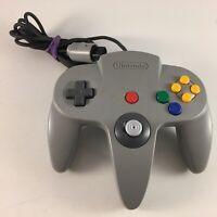 Genuine Nintendo 64 (N64) Controller Gray TESTED WORKING