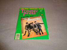 Trouser Press - June 1980 - Beatles Cover - The Romantics - Angel City - Squeeze
