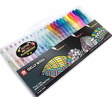 Sakura Gelly Roll - Sparkling, Metallic & Fluorescent Gel Pen 24 Colour Box Set
