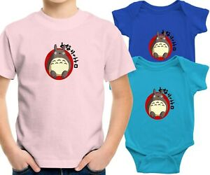 Ghibli Toddler Kids Youth Tee T-Shirt Infant Baby Bodysuit My Neighbor Totoro