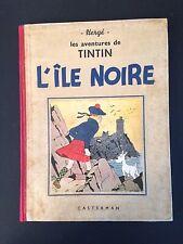 TINTIN - L ILE NOIRE - N&B - 1941 - A17bis - BE