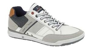 Smart Casual White Trainers Lace Up