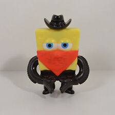 "2008 Spongebob Bandit Cowboy 3.5"" Burger King #3 Pest Of The West Action Figure"