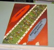 1951 Lamar Tech vs. Southwestern Oklahoma Bulldogs College Football Game Program