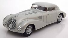 1938 Mercedes Benz 540K W29 Streamliner Silver by BoS Models LE of 1000 1/18 New
