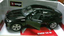 BURAGO DIAMOND 1:18 AUTO DIE CAST METAL  BMW X6 M  NERO ART 18-11032