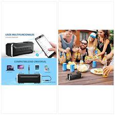 Vtin Punker Altavoz Bluetooth Estéreo Premium 20W Con Radiador Pasivo, Altavoz