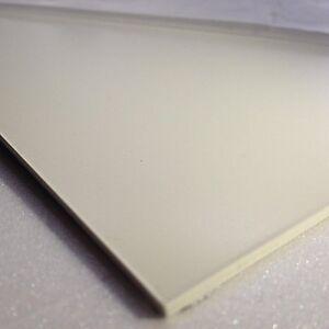 1mm White Smooth ABS Sheet 4 SIZES TO CHOOSE Acrylonitrile Butadiene Styrene