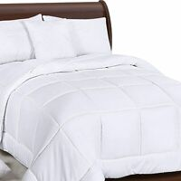 Down Alternative Quilted Comforter Duvet Insert King Size Soft with Corner Tabs