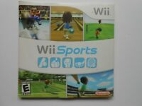 Wii Sports (Nintendo Wii, 2006) Complete With Sleeve & Manual Tested and Works