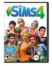 Brand New The Sims 4 Original Game for PC Mac - DVD-ROM Sealed -FREE Shipping-