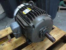BALDOR 10HP MOTOR #112526J FR:254U VOLT:208-230/460 USED