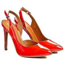 Women's Patent Leather Stiletto Heels