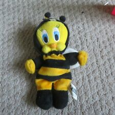 "10"" plush Bumble Bee Tweety Bird doll, good condition"