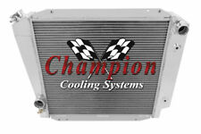 3 Row Perf Champion Radiator for 1966 - 1977 Ford Bronco Ford V8 Conversion