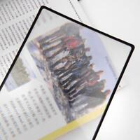 Flat PVC Magnifier Sheet X3 Book Page Magnifying Reading Glass Sell