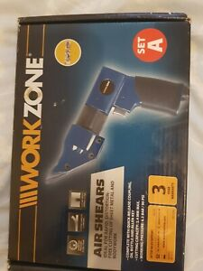 WORK ZONE AIR SHEARS FOR  EASY CUTTING OF  METALS IN WORKSHOPS  3 YEARS WARRANTY