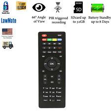 LawMate TV Remote Hidden Spy Dvr Camera Video Recorder 1080p FULL HD 32GB