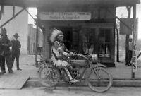 Vintage Motorcycle Shop Photo 747 Oddleys Strange & Bizarre