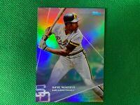 2020 Topps X Steve Aoki Rainbow Foilboard #13 Dave Winfield San Diego Padres