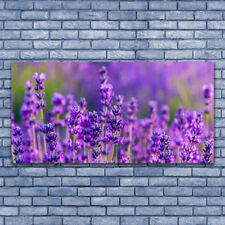 Wall art Print on Plexiglas® Acrylic 140x70 Flowers Floral
