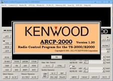 KENWOOD ARCP-2000 Program  Software for TS-2000,TS-2000X,B2000