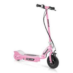 Razor E125 Motorized 24-Volt 10 MPH Girls Electric Scooter, Pink | For Parts