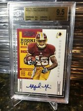 2012 Panini Contenders #101A ALFRED MORRIS Rookie Ticket Auto BGS 9.5 /10