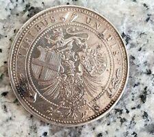 Medaille Preussen o.J.mit Wilhelm II.,Franz Joseph I.,Umberto I.