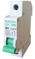 Leitungsschutzschalter GACIA SB6L 1P C25A, Sicherungsautomat MCB