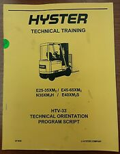 Hyster Technical Training HTV-33
