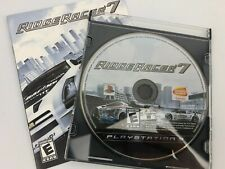 Ridge Racer 7 (Sony Playstation 3 PS3) Disc & Manual - Tested & Works
