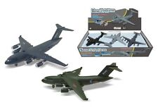 "AIRPLANE DISPLAY 9020 SONIC LOADMASTER - 9"" MILITARY TRANSPORT AIRCRAFT SET OF 6"
