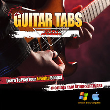 Guitar Lessons Gary Moore Songs Learn How To play Tablature + Tab Software CD-R