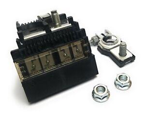🔥 For 2002-07 Altima Maxima Murano 07-15 Versa Battery Fuse Terminal 2 M8 Nuts