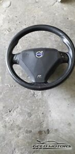 2004-2007 VOLVO S40 S60 S60R V70R Leather Steering Wheel ORIGINAL