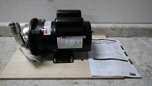 Dayton 4JMV5A 3/4 HP 3450 RPM 115/230V 62 Ft Max Head Centrifugal Pump