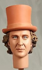 1:6 Custom Head of Gene Wilder as Willie Wonka With Removable Hat Version 1