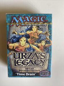 Magic the Gathering  Urza's Legacy Theme Deck: Time Drain