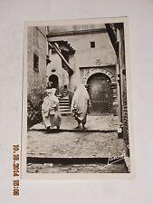 Vintage RPPC Alger 76 S - Une rue de la casbah Alleyways Gallice et Cle,Editeurs