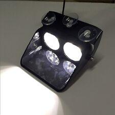 Bright White 8 LED Car Strobe Flash Light Dash Emergency Warning Flashing Lights