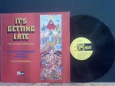 IT'S GETTING LATE  Continental Singers  LP  Folk Prog  Psych  Religious  EX !!