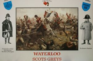 A Call To Arms 1/32 Napoleonic Waterloo Scots Greys Series 25