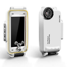 MEIKON 40m/130ft IPX8 Underwater Waterproof Case Dive Cover for iPhone 6s 6 4.7