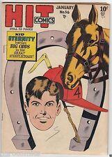 Golden Age HIT COMICS #56 Quality Comics KID ETERNITY 7.0 FN/VF
