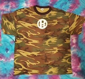 ODB Not Just Another Pretty Face 2XL TNA IMPACT Wrestling camouflage T-Shirt