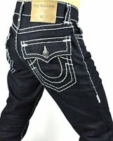 True Religion $299 Ricky Inglorious Relaxed Straight Super T Jeans - MDA859N45C