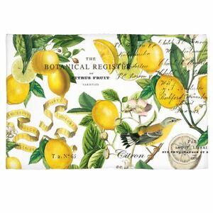 Michel Design Works Lemon Basil Lemons Woven Scatter Rug