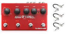 New TC Electronic Hall of Fame 2 X4 Multi Reverb Guitar Effects Pedal