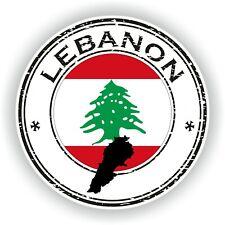 Líbano Sello Pegatina para Coche Camión Portátil Tablet Nevera Puerta
